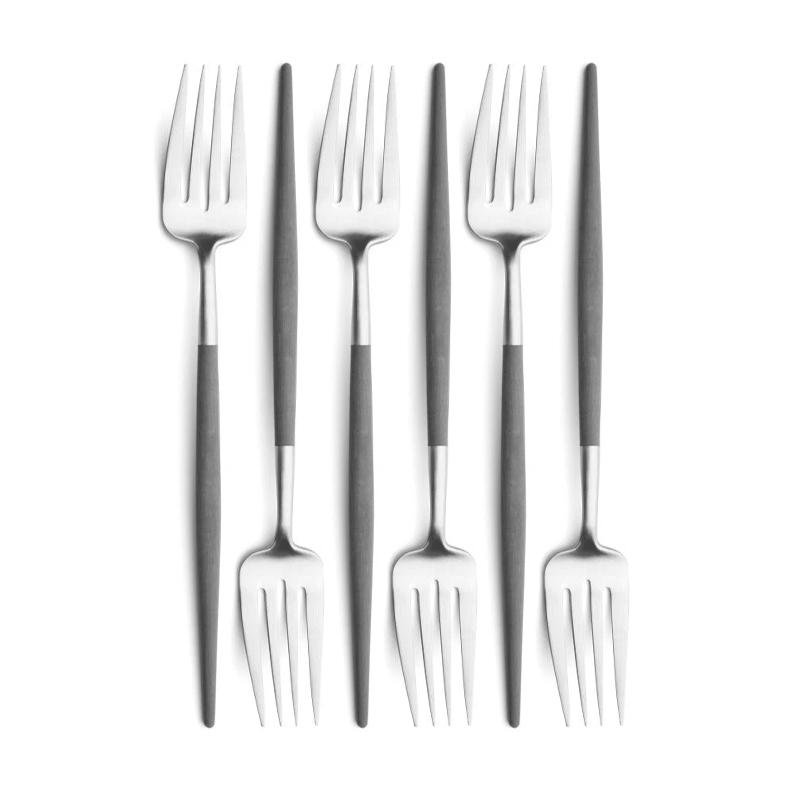 Cutipol Goa Grey 6 Fish Forks