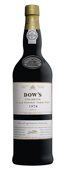 Dows Colheita Port 1974 - 6 Bottles Pack