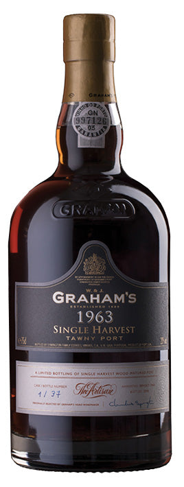 Grahams Colheita Port 1963 - 4 Bottles Pack