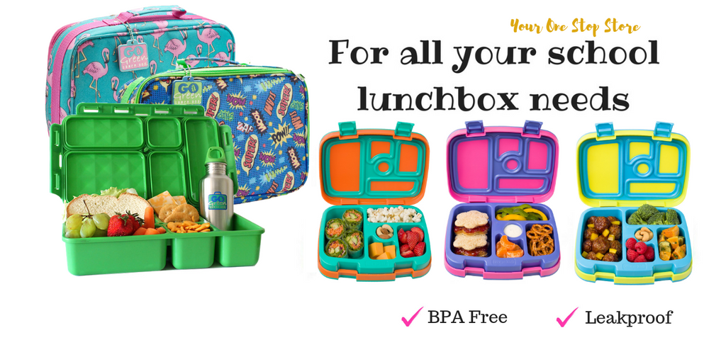 Go Green Lunch Box and Bentgo Kids Bento Box