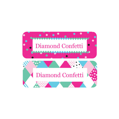 Personalised Essentials labels - Girls