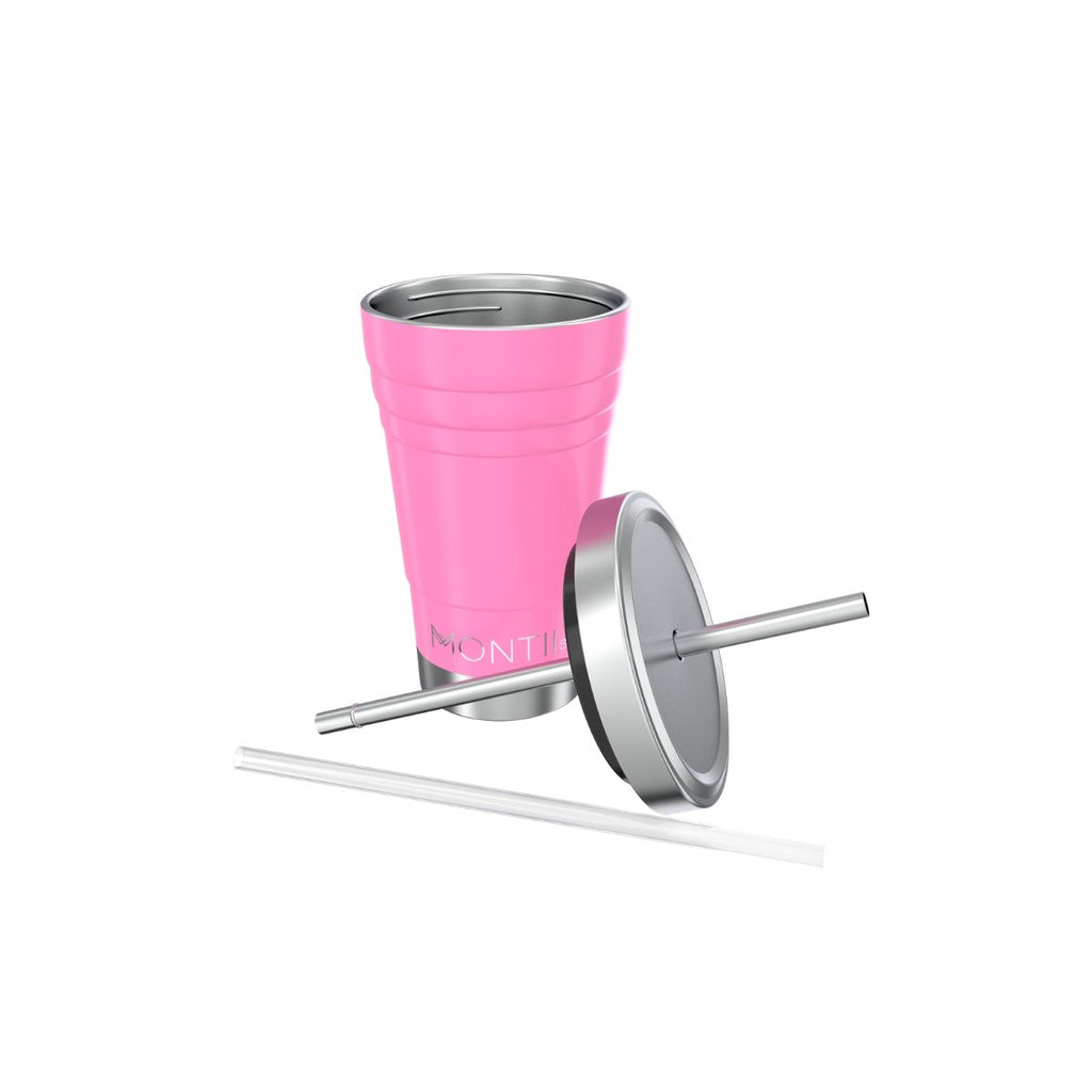 Montii MINI Smoothie Cup ~ Blush Pink ( NEW)