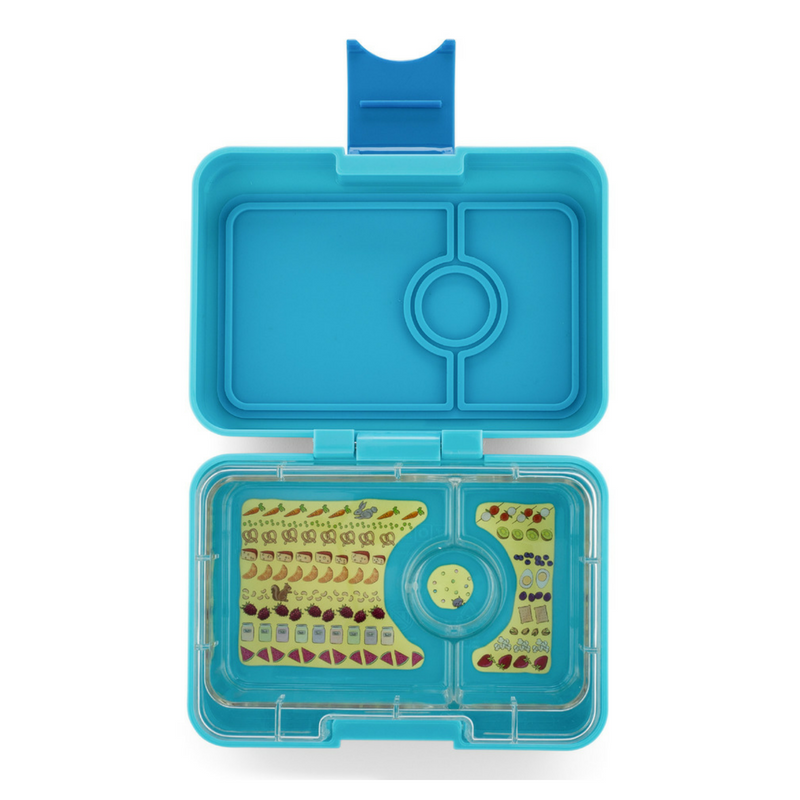 Yumbox MiniSnack  ~ Blue Fish ( NEW )