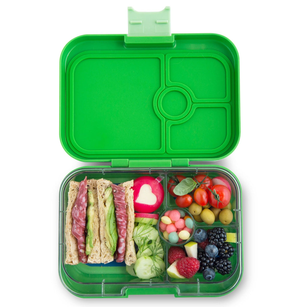 Yumbox Panino (4 compartment) ~ Cilantro Green (NEW)