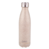 Oasis Shimmer S/S Double Wall 500ml insulated Drink Bottle ~ Gold
