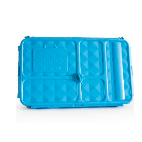Go Green Lunch Box Set ~ BLUE( NEW)