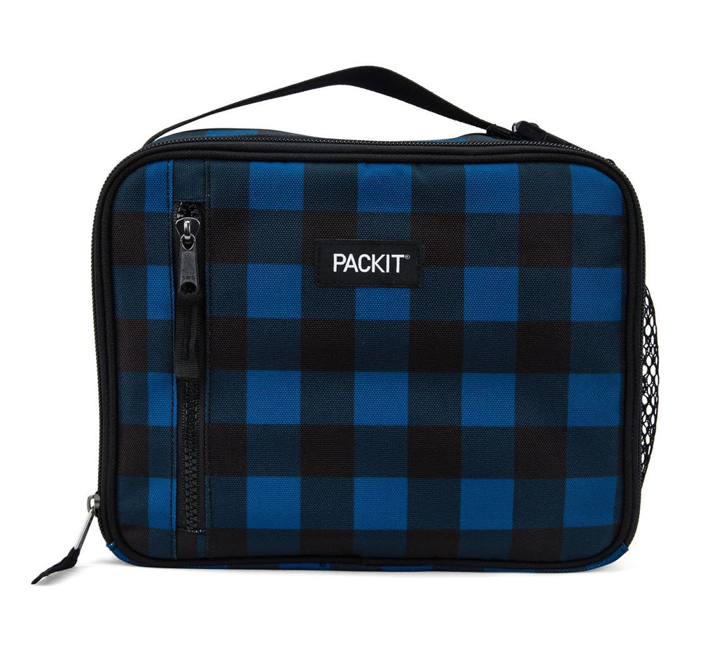 PackIt Freezable Classic Lunch bag - Navy Buffalo