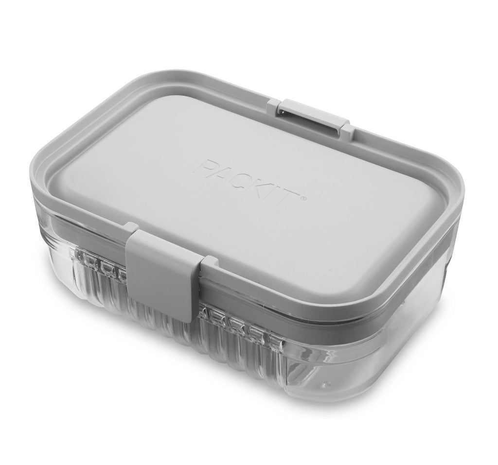 PackIt Mod Lunch Bento ~ Steel Gray