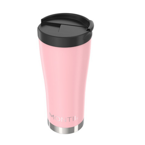 Montii Reusable Coffee Cup ~ NEW  ~ Dusty Pink