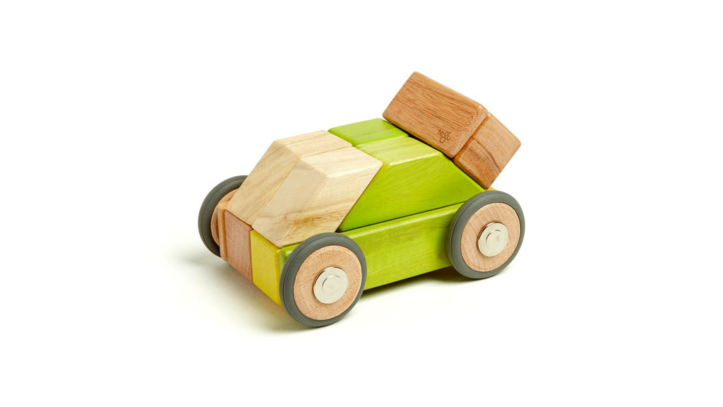 Tegu Magnetic Wooden Blocks 42 Piece Jungle