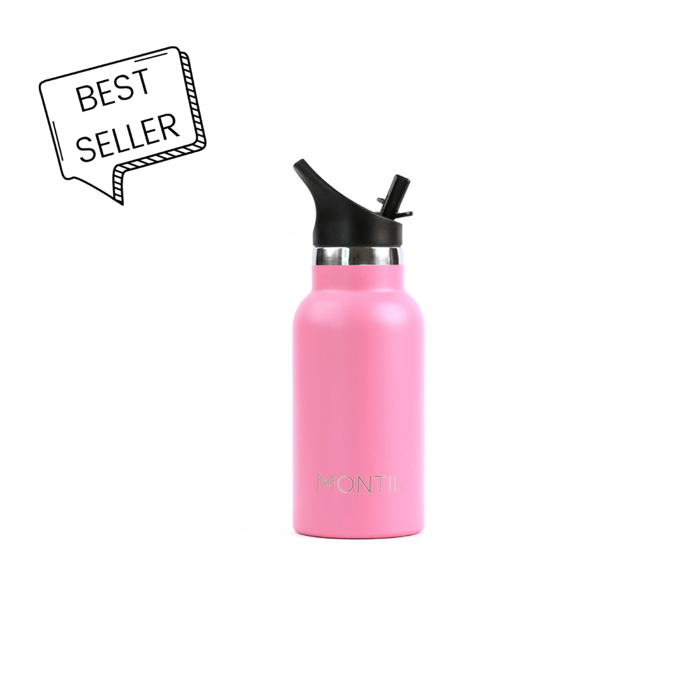 Mini Montii Pink Insulated Bottle 350ml ( NEW )