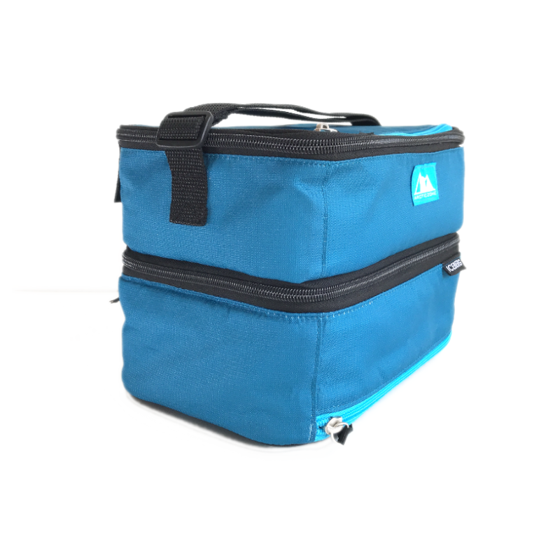 Arctic Zone Dual Compartment Lunch Pack ~Sapphire Blue( NEW)