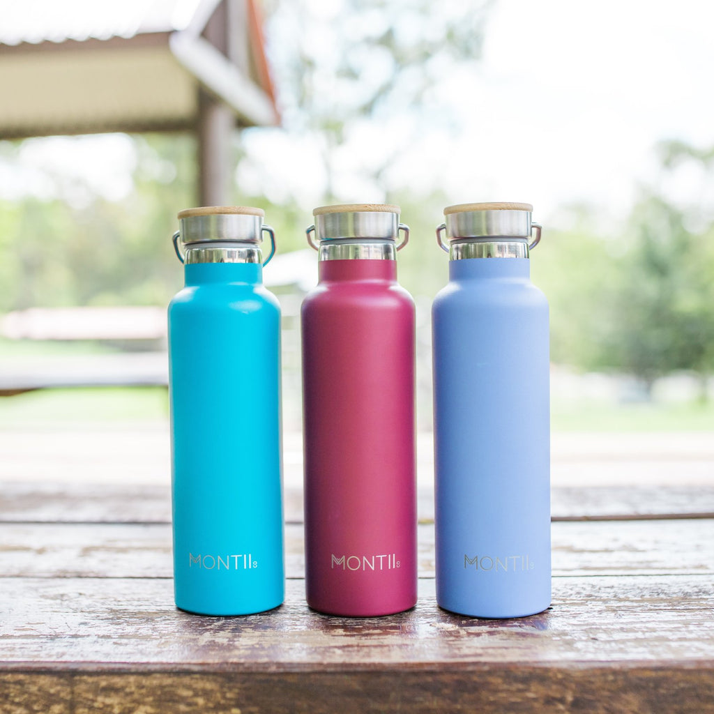 Montii Co Burgundy Insulated Bottle 600ml