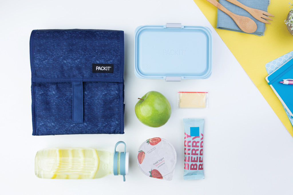 PackIt Freezable Lunch bag - Navy Heather ( NEW! )
