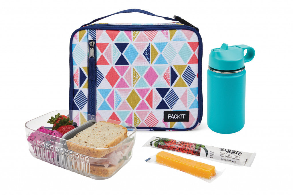 PackIt Freezable Classic Lunch bag - Festive gem