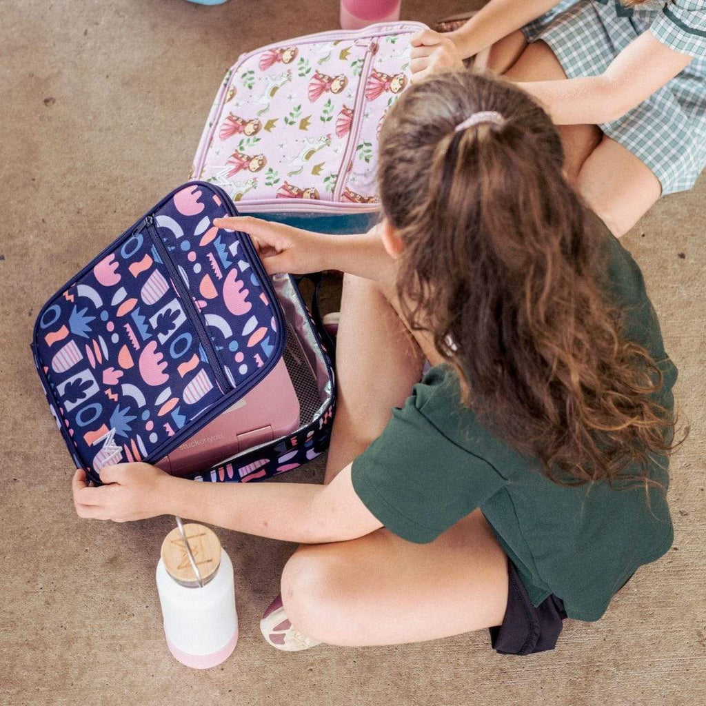 Montii Insulated lunch bag ~ Bloom