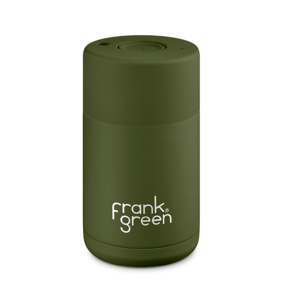 Frank Green 10 oz Ceramic Khaki