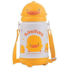 Piyo Piyo Anti-Bacterial Thermos with Sliding Lid 420mL