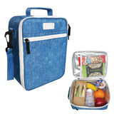 Sachi Insulated Kids Lunch Tote Denim