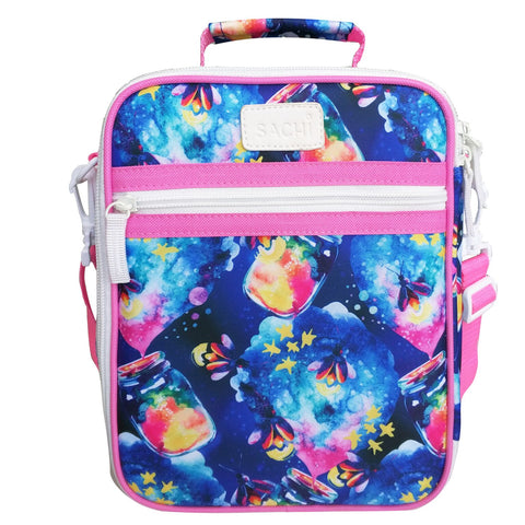 Sachi Insulated Kids Lunch Tote Firefly ( NEW design)
