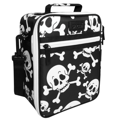 Sachi Insulated Kids Lunch Tote Skull