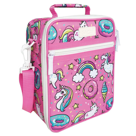 Sachi Insulated Kids Lunch Tote Unicorn