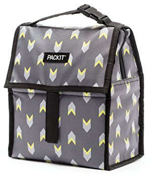 PackIt Freezable Lunch bag -Neon Arrow