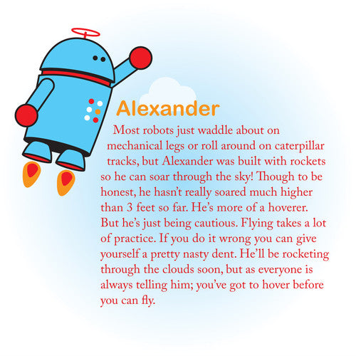 Beatrix Big Kid Pack: Alexander (Robot)