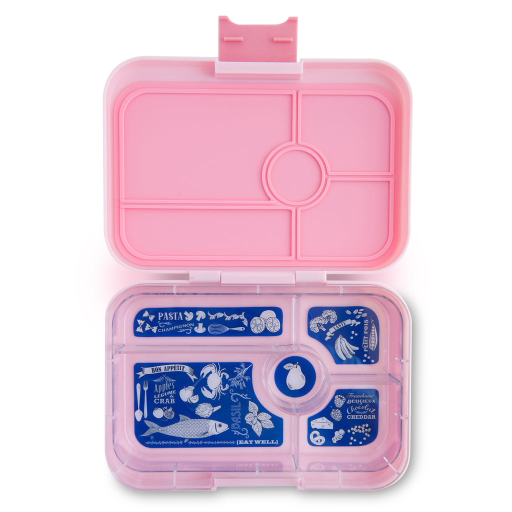 Yumbox Tapas ( 5 compartment) ~ Amalfi Pink
