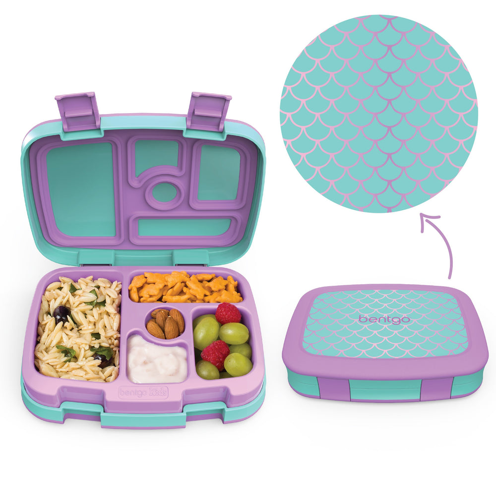 Bentgo Kids Prints Lunch Box ~ Mermaid ( NEW )
