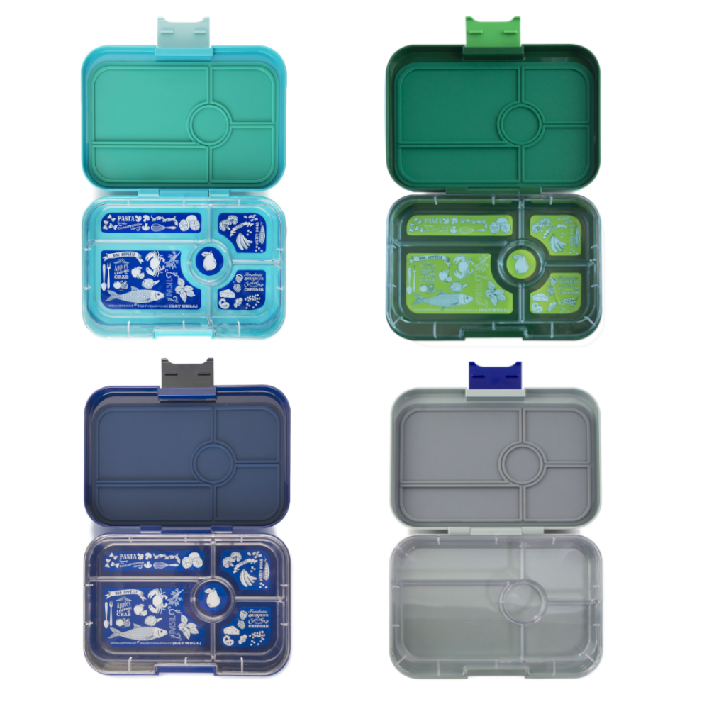 Yumbox Tapas ( 5 compartment) ~Brooklyn Green ( NEW)