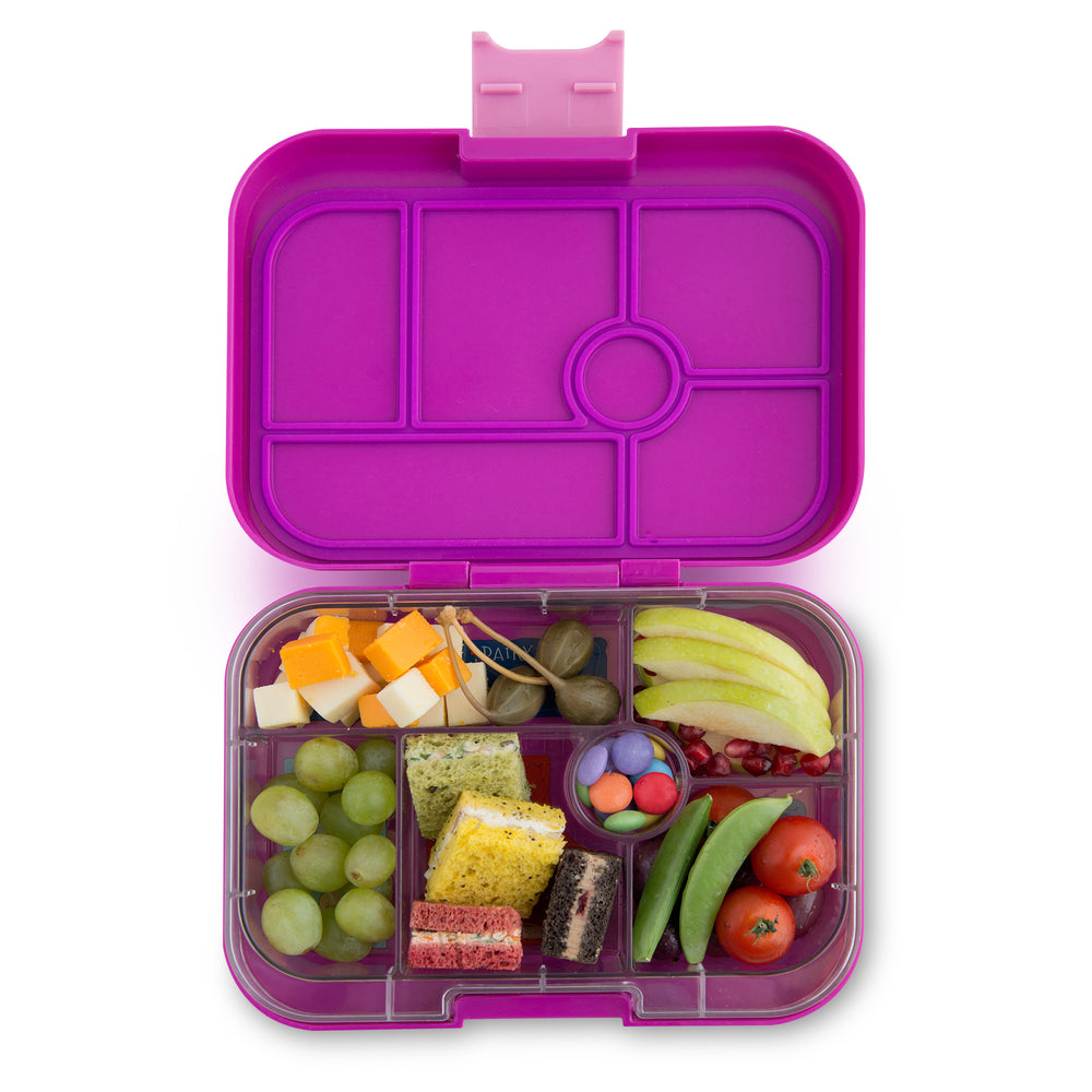 Yumbox Original (6 compartment) ~ Bijoux Purple