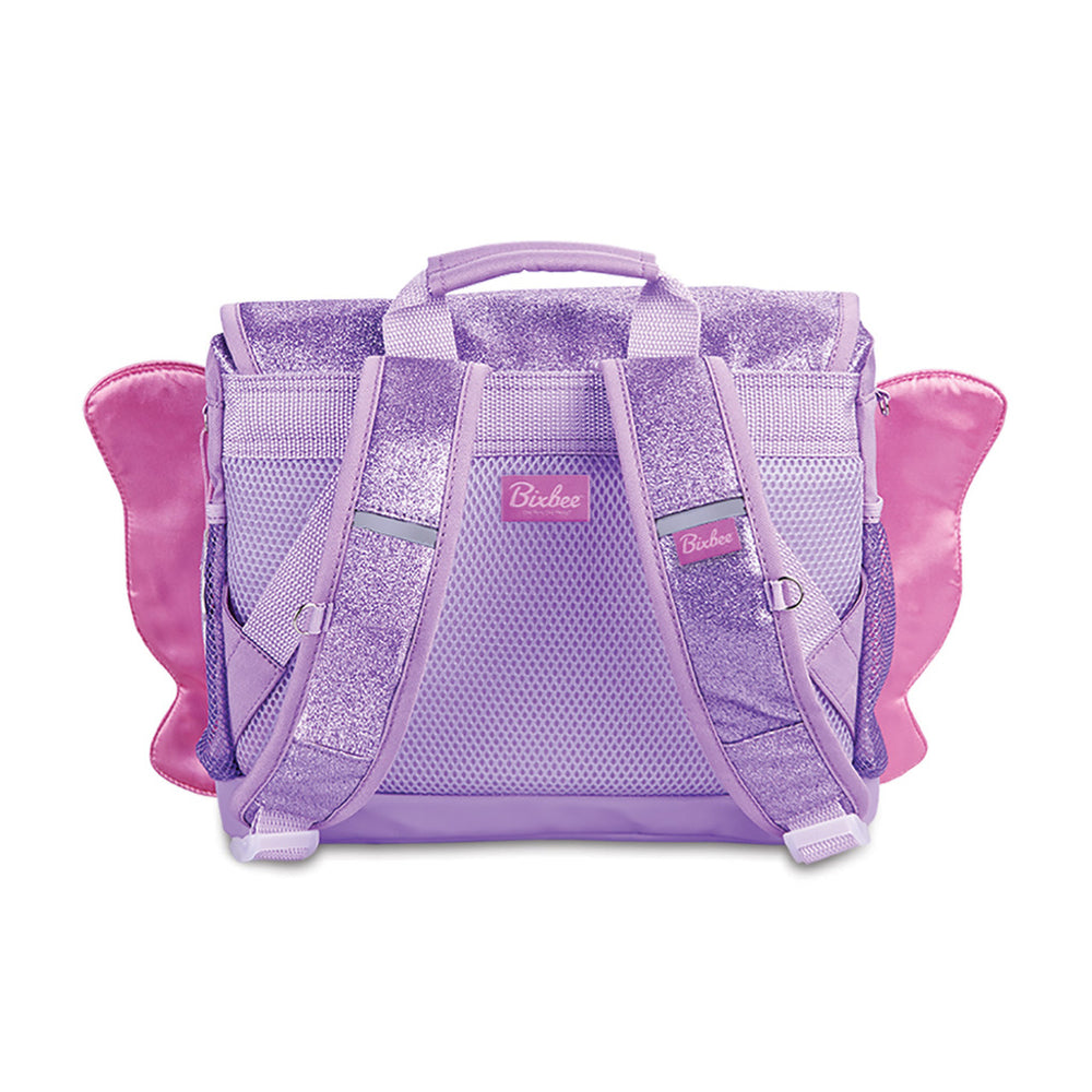 Bixbee Sparkalicious Purple Butterflyer Backpack - Small