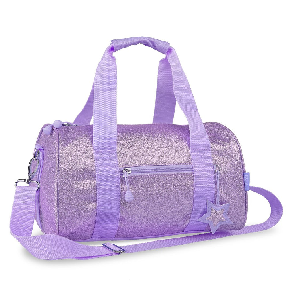 Bixbee Sparkalicious Purple Medium Duffle bag  ( NEW )