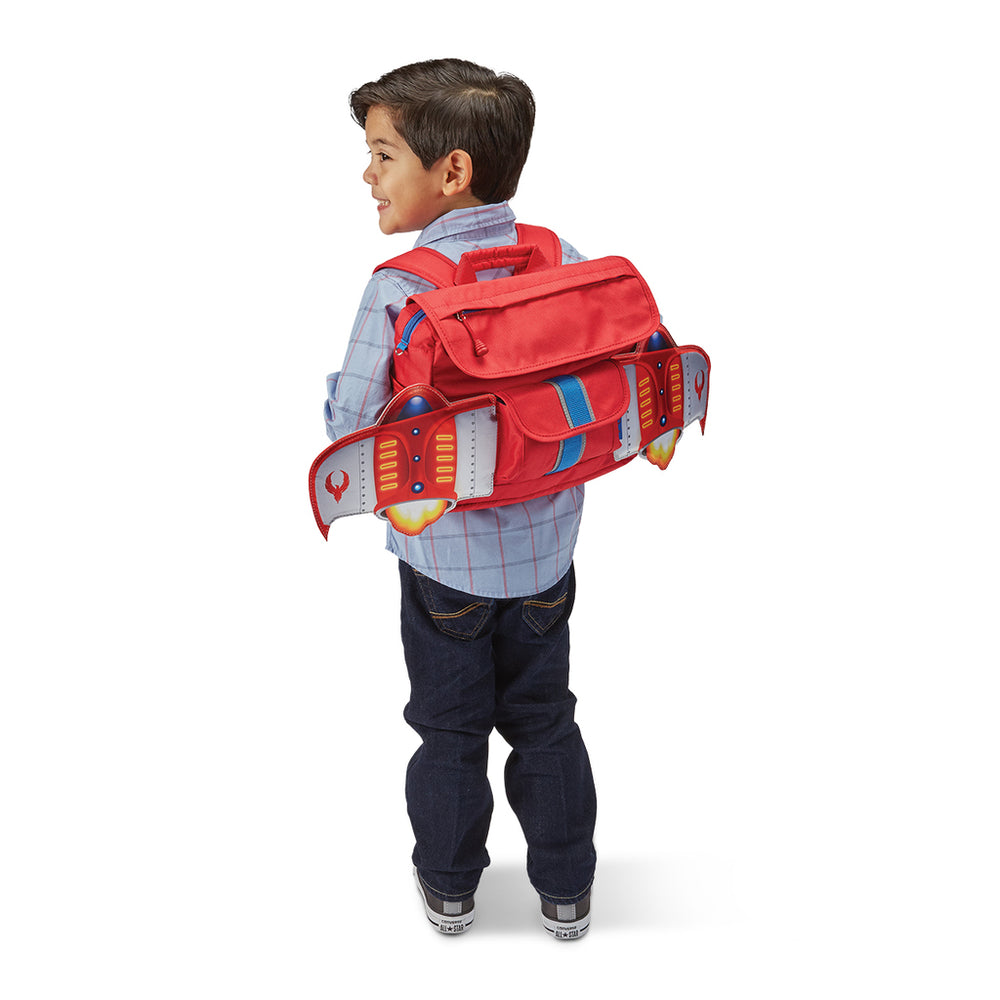 Bixbee Fire Bird Flyer Backpack