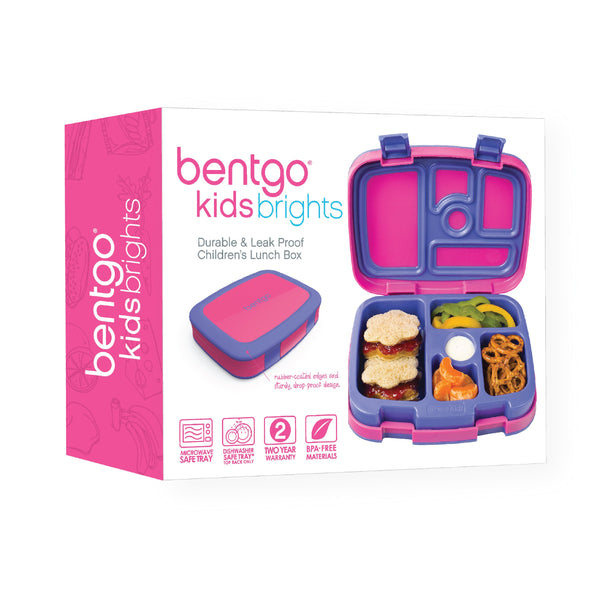 Bentgo Kids Brights Lunch Box ~ Fuchsia ( NEW)
