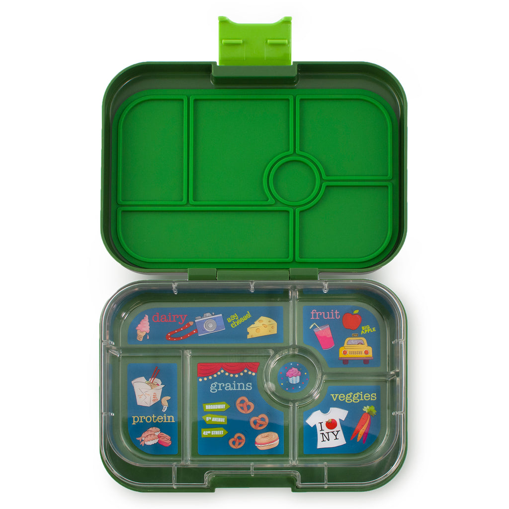 Yumbox Original (6 compartment) ~ Brooklyn Green