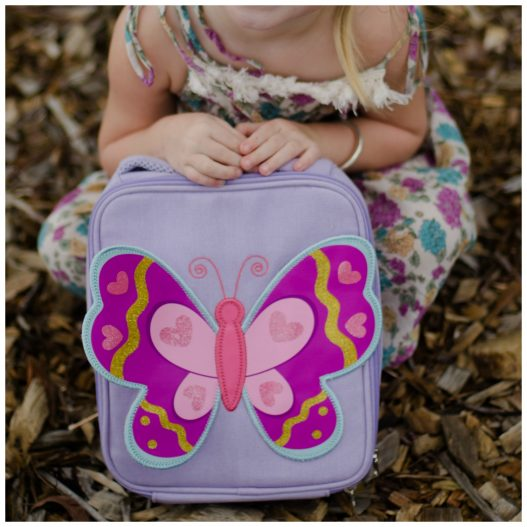 Giggle Me Pink~ Butterfly Lunch Bag ( Clearance)
