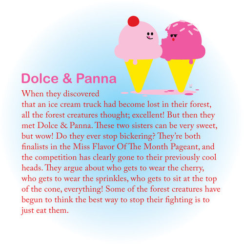 Beatrix NY Little Kid Pack: Dolce & Panna (Ice Cream Cones)