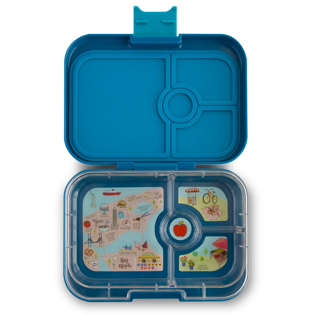 Yumbox Panino (4 compartment) ~ Empire blue