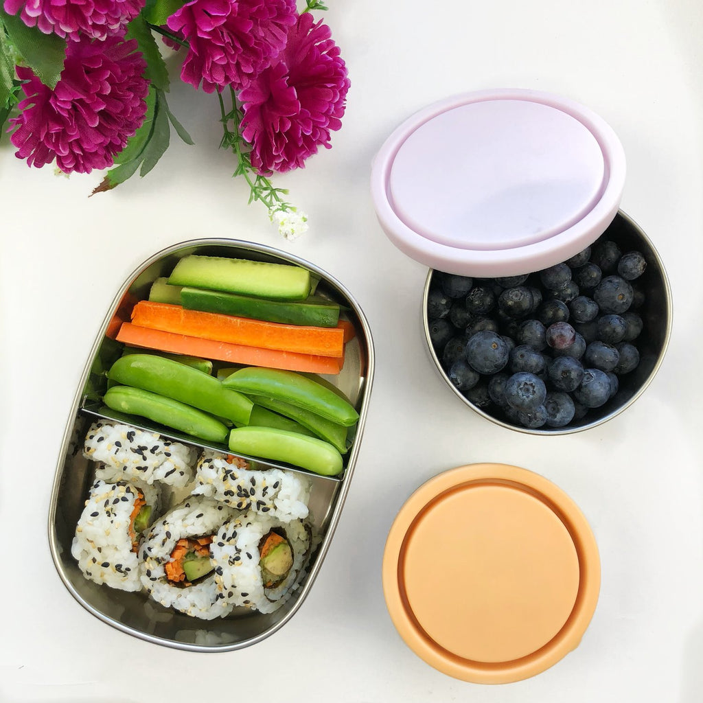 Ever Eco Stainless Steel Bento Snack Box 2 Compartment 580ml