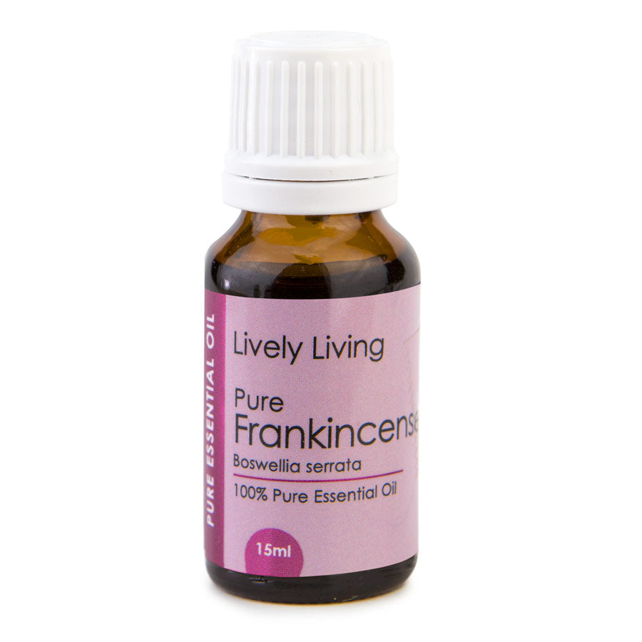 Lively Living-100% Certified Organic Essential Oil Blend - Frankincense 15 ml