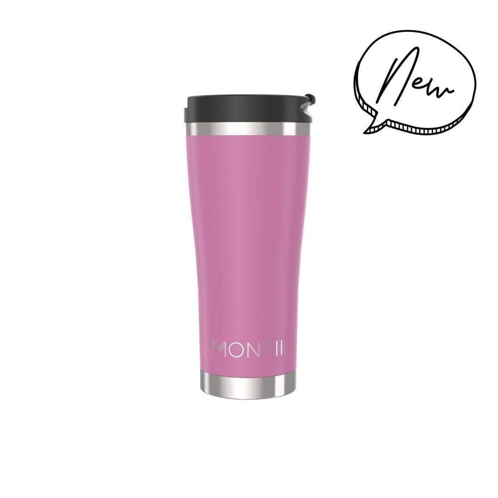 Montii MEGA Coffee Cup ~ NEW  ~ ROSE