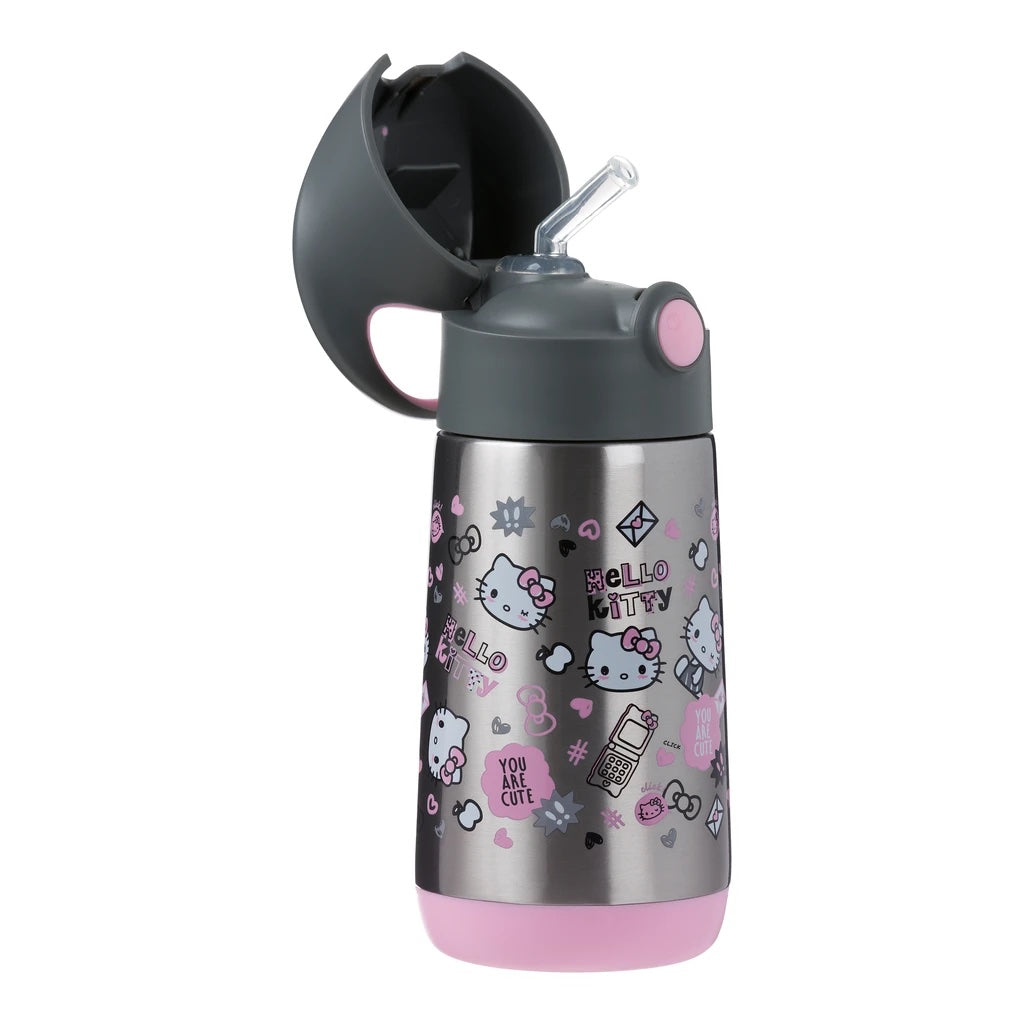 B.Box DRINK BOTTLE -Insulated - Hello Kitty Get Social (NeW )