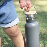 Montii Co Grey Insulated Bottle 600ml