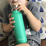 Montii Co Green Insulated Bottle 600ml
