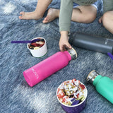 Montii Co Pink Insulated Bottle 600ml