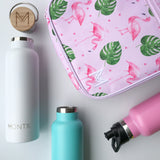 Montii Insulated lunch bag ~ Flamingo ( NEW )