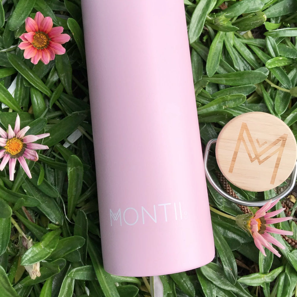 Montii Co Dusty Pink Insulated Bottle 600ml ( NEW)