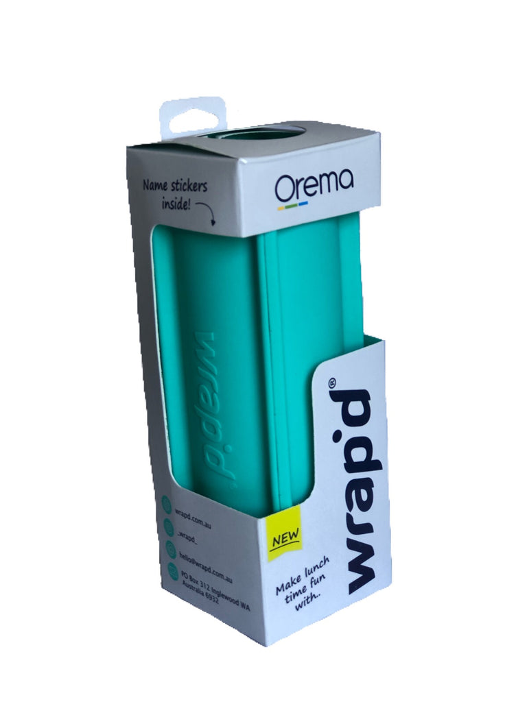 Wrap'd ~ Silicone Wrap Holder AQUA ( New)